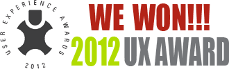 SPIA is a 2012 UX Award Winner!